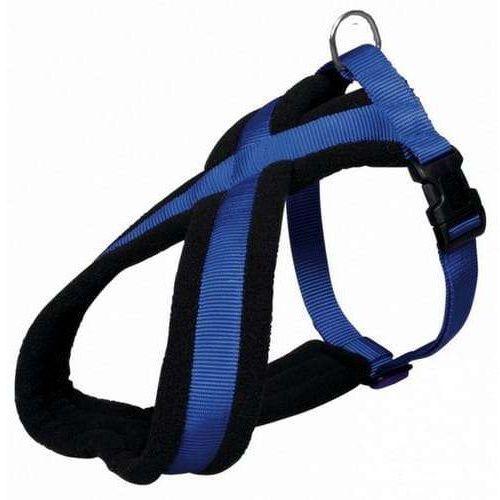 Trixie Uprząż Premium S-M 40-60cm/20mm niebieska [TX-20382] (4011905203829)