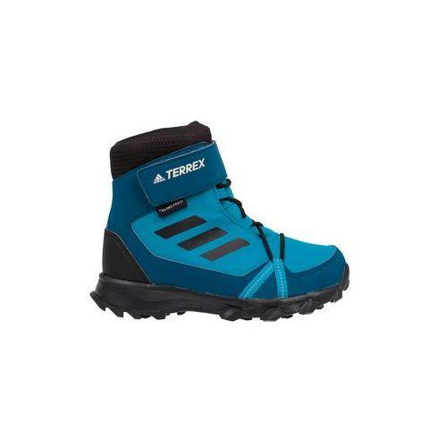 Adidas Buty terrex snow cf cp cw kids - mystery petrol/core