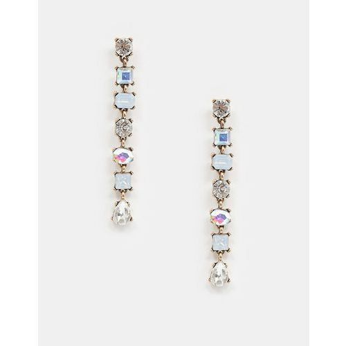 crystal drop earrings - multi marki True decadence