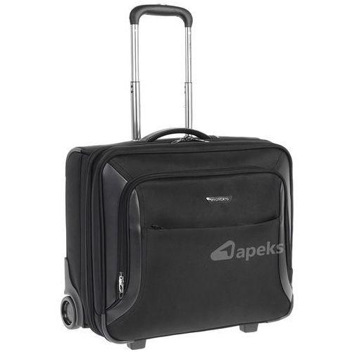 Roncato BIZ 2.0 mała walizka kabinowa 20/49 cm / pilotka na laptopa 17'' / tablet 10'', kolor czarny
