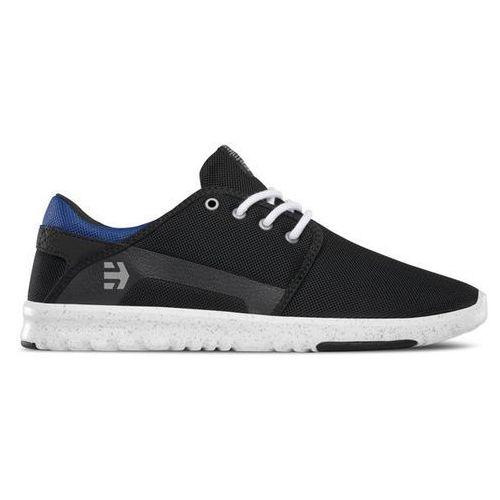 buty ETNIES - Scout Black/Blue/Black (994) rozmiar: 42.5, kolor niebieski
