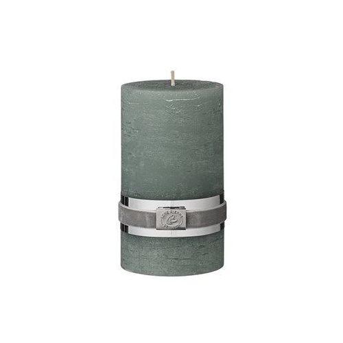 Świeca Rustykalna zieleń 12.5 cm