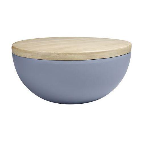 Stolik DOUGLAS MARCO POLO - imitacja betonu i drewna dębowego (5900168807112)