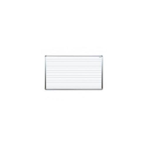 Tablica suchościeralna magnetyczna biała 170x100 cm z nadrukiem - nauka pisania marki Allboards