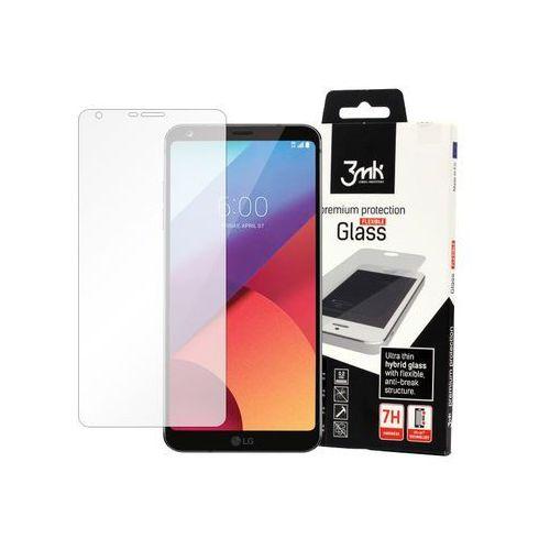 LG Q6 - szkło hartowane 3MK Flexible Glass, FOLG5573MFG000000