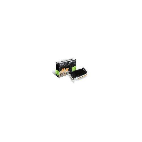 Karta graficzna MSI GeForce GT 730 2GB DDR3 (64 bit) HDMI, DVI, D-Sub (N730K-2GD3H/LP) Szybka dostawa! Darmowy odbiór w 20 miastach! - sprawdź w wybranym sklepie