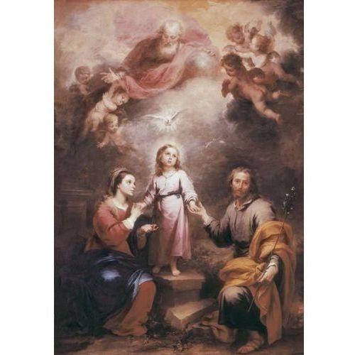Reprodukcja the heavenly and earthly trinities 1675 1682 bartolomé estéban murillo wyprodukowany przez Deco-strefa – dekoracje w dobrym stylu