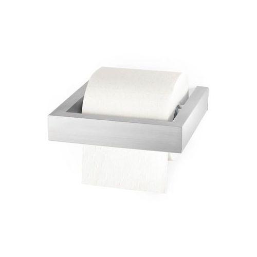 Zack - uchwyt na papier toaletowy linea - stal nierdzewna matowa - stal matowa