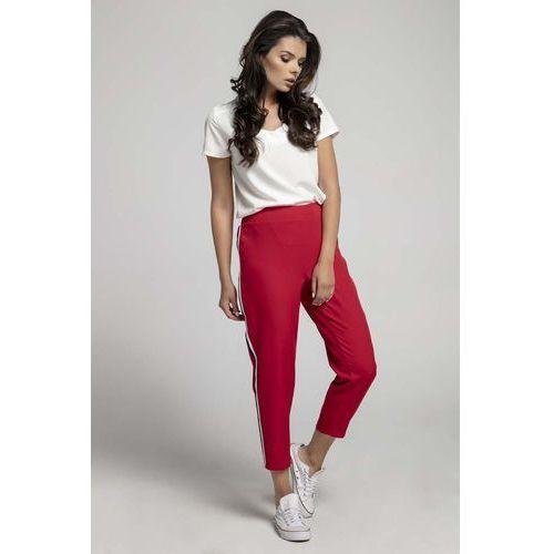 Spodnie damskie Kolor: fioletowy, ceny, opinie, sklepy (str