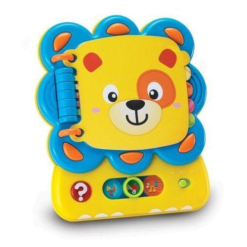 Lwie zagadki książeczka interaktywna. 9209 - play marki Smily