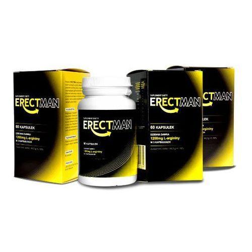 Erectman silniejsza i trwalsza erekcja 60 caps. x3   100% dyskrecji   bezpieczne zakupy marki Lovely lovers