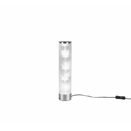 rl rico r52811001 lampa stołowa lampka 1x1w led chromowana marki Trio