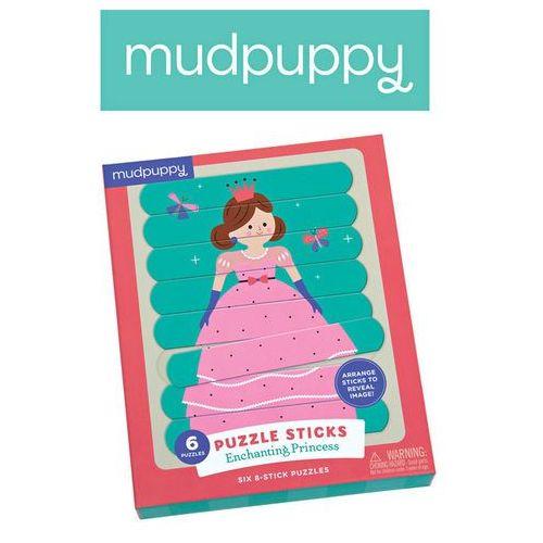 Neuveden Puzzle sticks: enchanting princess/tyčinková skládačka: princezna (24 dílků)
