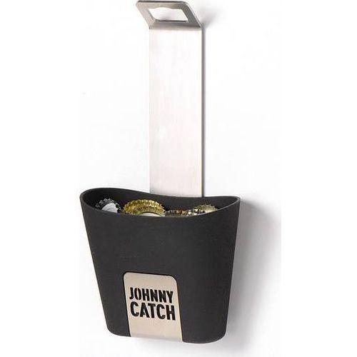 Otwieracz do butelek Johnny Catch z pojemnikiem na kapsle (4260447330023)