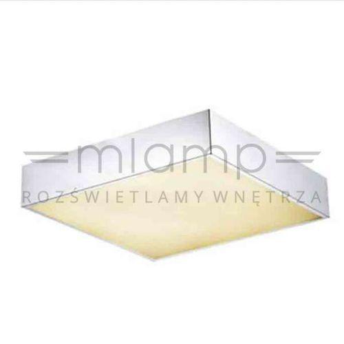 Orlicki design Plafon lampa sufitowa arco pl 30 szklana oprawa kwadratowa chrom (1000000280432)