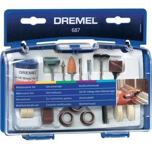 Zestaw uniwersalny 52 części marki Dremel
