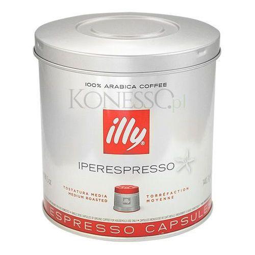 illy 7734, czerwona - Kapsułki espresso, puszka- 21 kapsułek