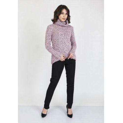 Mkm nicola swe 103 różowy sweter, Mkmswetry