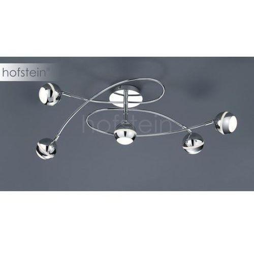 Trio -leuchten baloubet lampa sufitowa led chrom, 5-punktowe - nowoczesny - obszar wewnętrzny - baloubet - czas dostawy: od 3-6 dni roboczych (4017807259834)