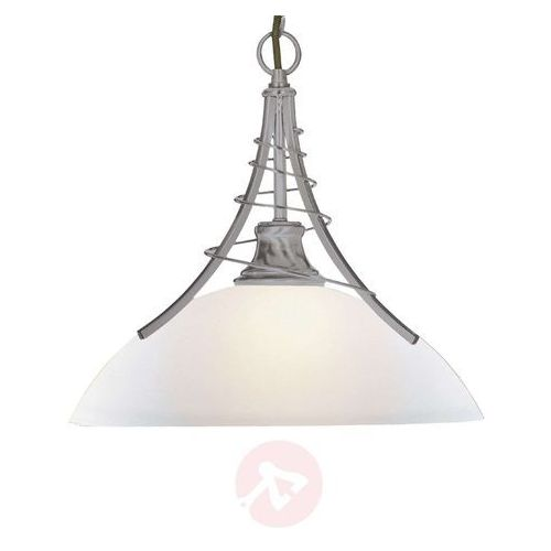 Ponadczasowa lampa wisząca LINEAS srebrna (5013874278456)