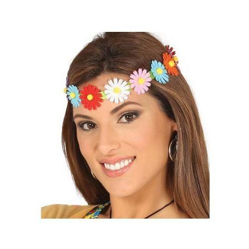 Guirca Opaska na głowę kolorowe kwiatki - 1 szt. (8434077173916)