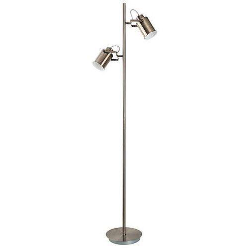 Lampa podłogowa peter 5985 reflektorowa oprawa stojąca metalowe tuby reflektorki industrialne antyczny brąz marki Rabalux