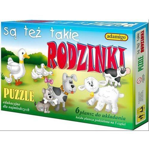 Adamigo , puzzle edukacyjne są też takie rodzinki (5902410004997)