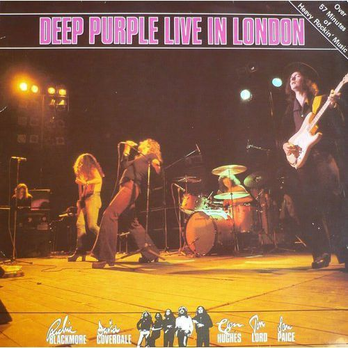 LIVE IN LONDON - Deep Purple (Płyta CD), 5003582