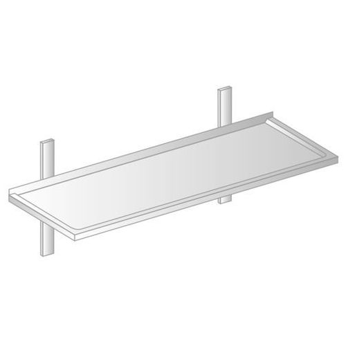 Dora metal Półka wisząca z powierzchnią zagłębioną 1200x400x250 mm   , dm-3502
