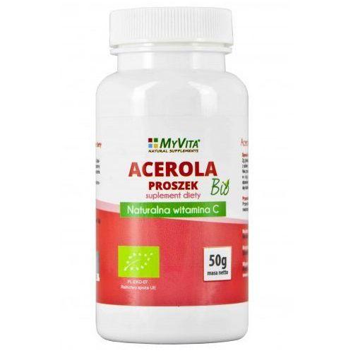 Myvita Acerola sproszkowany sok bio 50g