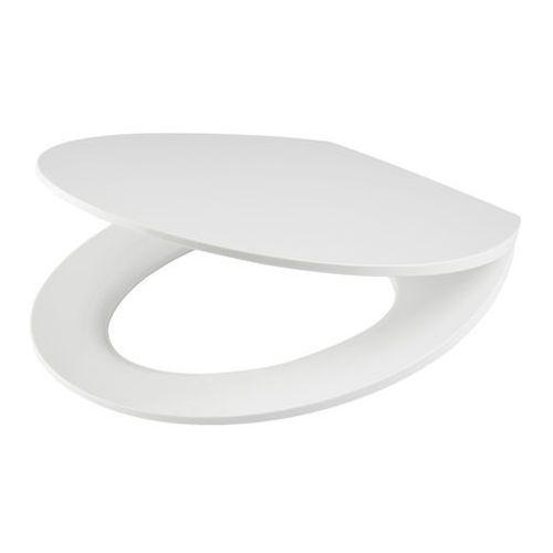 Deska WC Changi z duroplastu wolnoopadająca biała, BU230Q / W