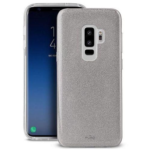 PURO Glitter Shine Cover - Etui Samsung Galaxy S9+ (Silver), SGS9SHINESIL