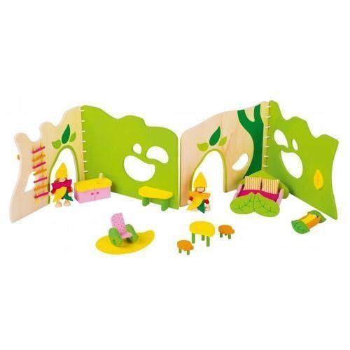 Goki Leśny domek dla lalek - zabawki dla dzieci