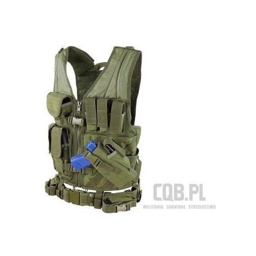 Kamizelka taktyczna Condor Cross Draw Vest Zielona CV-001, COCV-001