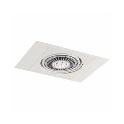Shilo Oczko lampa sufitowa muko h 3356/g53/bi podtynkowa oprawa regulowana wpust prostokątny biały (1000000340952)
