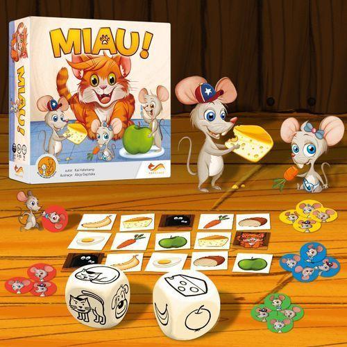 Miau gra planszowa marki Foxgames