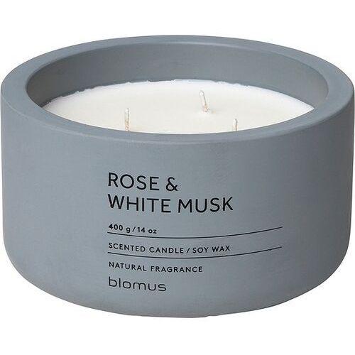 Świeca zapachowa fraga rose & white musk 13 cm
