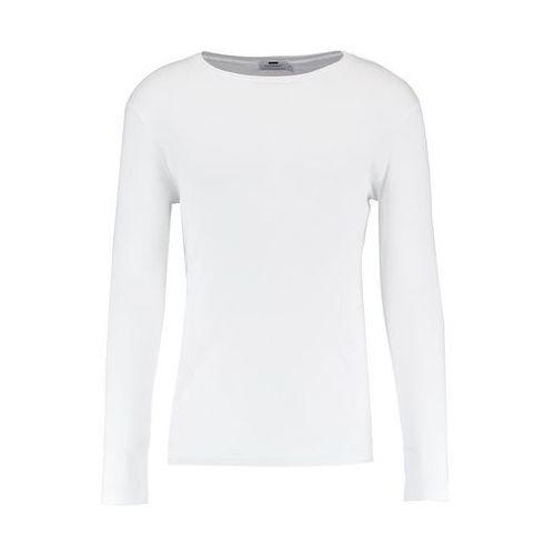 Topman MUSCLE FIT Bluzka z długim rękawem white, 71K02QWHT