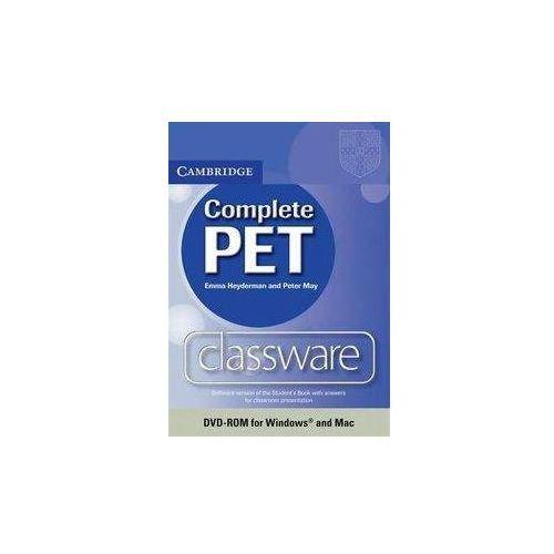 Complete PET Classware DVD (9780521157254)