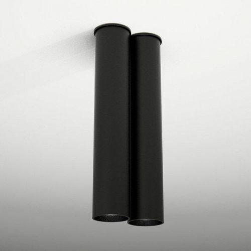 Downlight LAMPA sufitowa ARIDA 1114/GU10/CZ Shilo natynkowa OPRAWA czarna