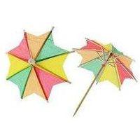 Parasolki papierowe kolorowe 144 sztuki