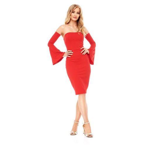 Sukienka Frezia w kolorze czerwonym, kolor czerwony