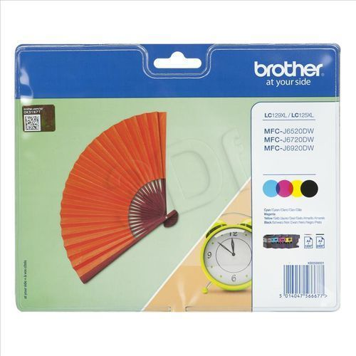 Brother LC 129 XL Multi Pack (5014047566677)