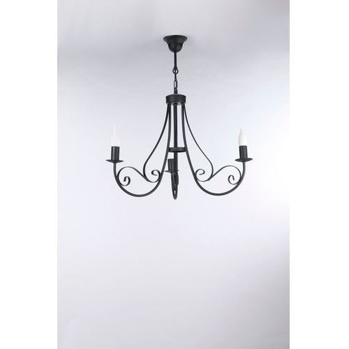 Lampa Wisząca Mizar Classic Black 3 nr 3378