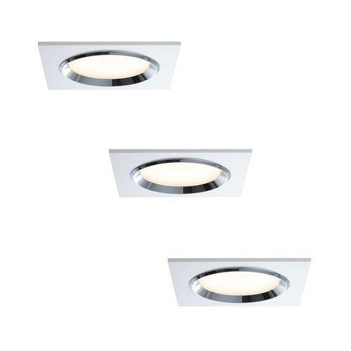Paulmann 92695 - ZESTAW 3x LED Ściemnialna oprawa wpuszczana DICE 3xLED/8W/230V (4000870926956)