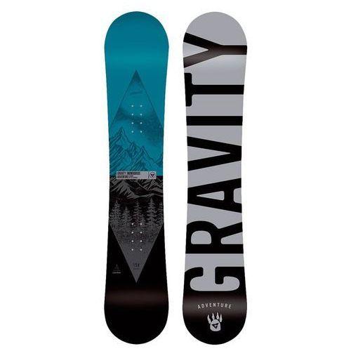 Snowboard - adventure multi (multi) rozmiar: 156 marki Gravity