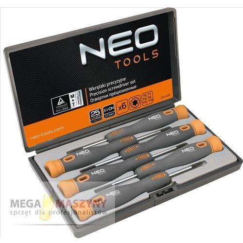 NEO TOOLS Wkrętaki precyzyjne, zestaw 04-226, towar z kategorii: Zestawy narzędzi ręcznych