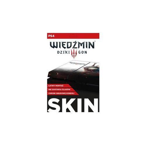 Cdp.pl Skin na konsolę  playstation 4 - wiedźmin 3 dziki gon: biały wilk (5907610750651)