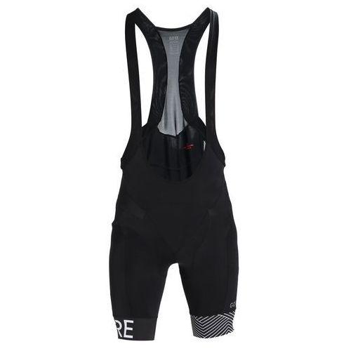 Gore Wear OPTILINE Krótkie spodenki sportowe black/white, 100162