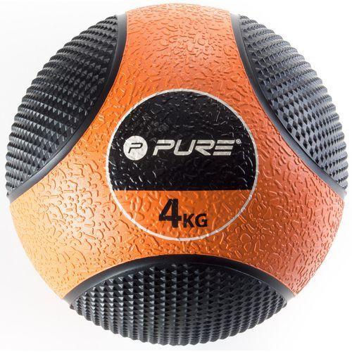 Pure2improve Piłka lekarska pure 2 improve p2i110020 czarno-pomarańczowy + darmowy transport!